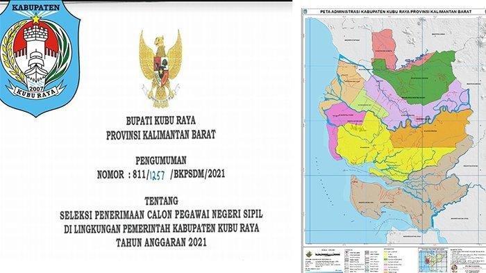 JADWAL Seleksi CPNS Kubu Raya 2021, sscasn.bkn.go.id Login Daftar CPNS KKR 2021