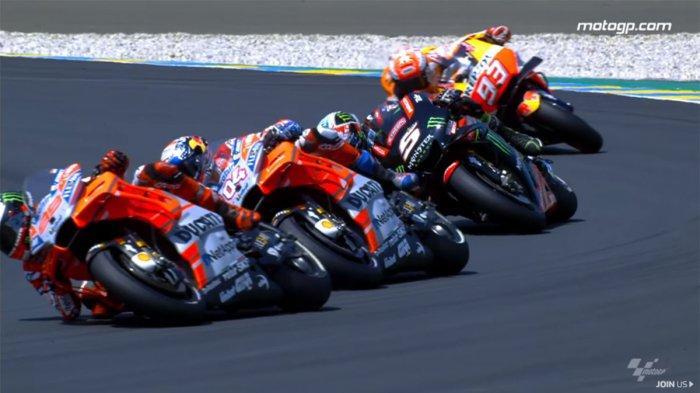 Jadwal Siaran Langsung MotoGP 2019 di Trans7, Live Streaming MotoGP Prancis 2019 Jam 19.00 WIB