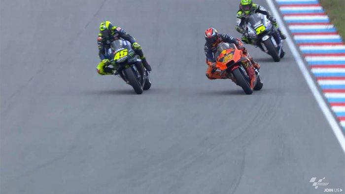 Jadwal Siaran Langsung MotoGP 2019 Trans7 Streaming MotoGP Italia, Valentino Rossi Vs Marc Marquez