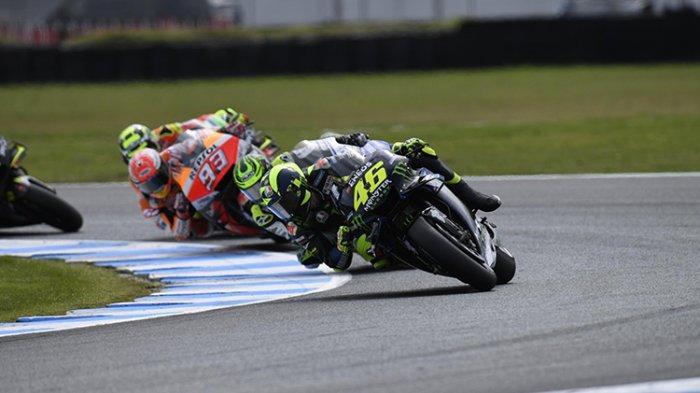 Sisihkan Valentino Rossi, Marc Marquez Sebut 4 Pembalap Terberat Lawan MotoGP 2020