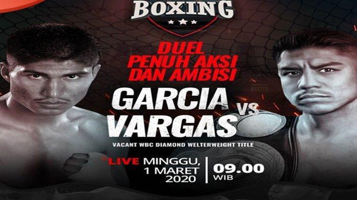 Jadwal Siaran Langsung Tinju Dunia TVOne Minggu (1/3) Mikey Garcia vs Jessie Vargas