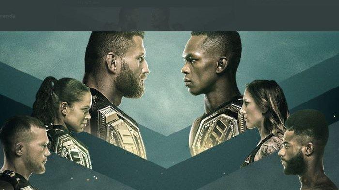 Jadwal UFC 259 Minggu 7 Maret 2021, Live Jan Blachowicz vs Israel Adesanya di ESPN Plus & Fox Sports