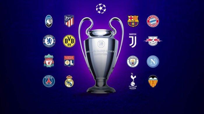 JADWAL Leg ILiga Champion Babak 16 Besar Live SCTV, Real Madrid Vs Man City Hingga Napoli Vs Barca