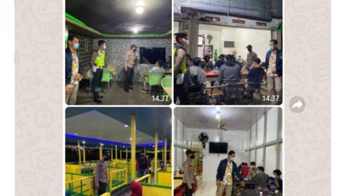 Patroli KRYD, Kapolres SanggauAjak Masyarakat Disiplin dalam Penerapan Protokol Kesehatan