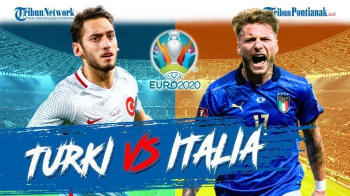 Jam Berapa Pembukaan EURO 2021 Italia Vs Turki, Cek Jadwal EURO 2021 Terbaru Live RCTI MolaTV
