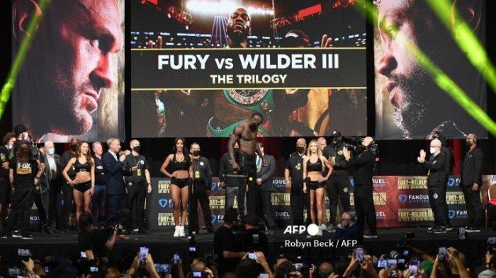 Jam Berapa Tinju Dunia Tyson Fury Vs Deontay Wilder Mulai Live Indosiar Hari Ini Minggu 10 Oktober