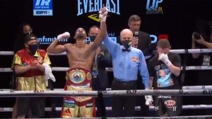Hasil Tinju Dunia Jamel Herring vs Carl Frampton: Semper Fi Menang TKO, Frampton Putuskan Pensiun