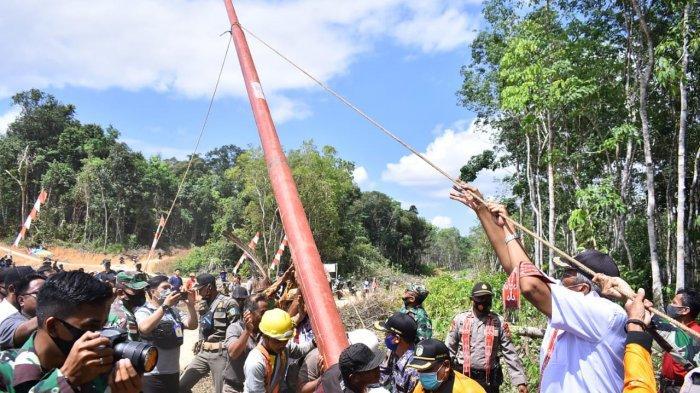 Komitmen PLN Wujudkan Terang di Bumi Senentang, 1100 Warga Tanjung Perada Siap Sambut Listrik Negara