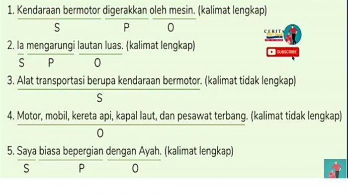 Jawaban literasi 3 Kelas 4 SD TVRI Selasa 19 Januari 2021.