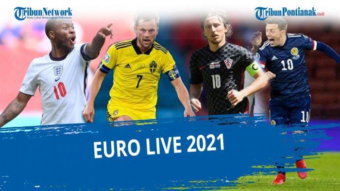 UPDATE DAFTAR 16 Tim Lolos Babak 16 Besar EURO 2021 4 Negara Peringkat 3 Terbaik Masuk 16 Besar Euro