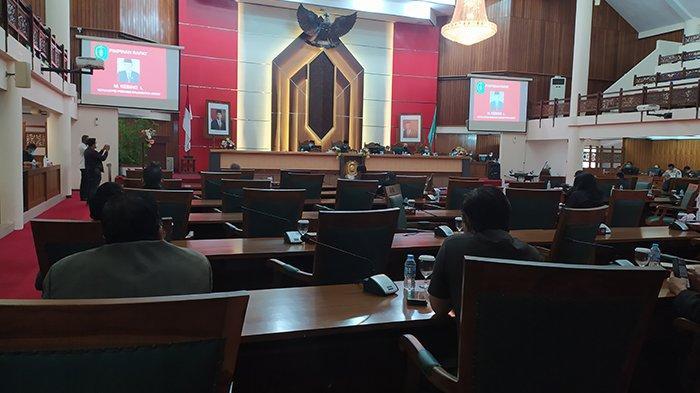27 Anggota DPRD Kalbar Tak Hadiri Rapat Paripurna Jawaban Gubernur Terhadap Pandangan Fraksi