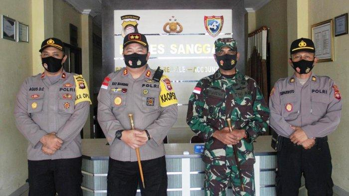 Kapolres Sanggau Terima Kunjungan Silaturahmi Dandim 1204 Sanggau