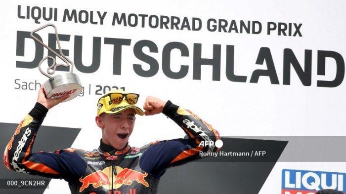 Jejak Kerier Pedro Acosta, Juara Moto3 2021 Paruh Musim