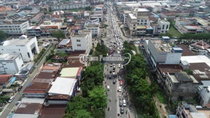 FOTO: Kemacetan Menuju Jembatan Kapuas I hingga ke Jalan Veteran Dampak Penutupan Jembatan Kapuas II - jembatan-kapuas-i3.jpg