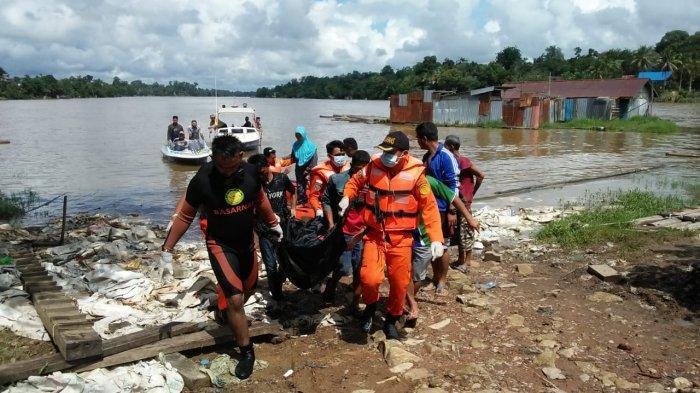 Jenazah Dadang ABK Tenggelam Ditemukan 500 Meter dari Lokasi Terjatuh, Operasi Pencarian Dihentikan