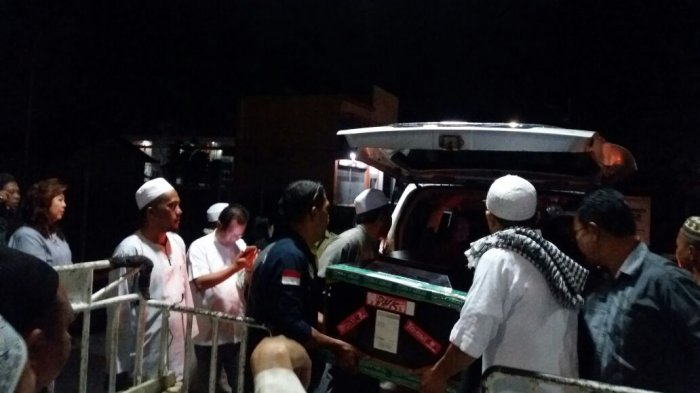 Jenazah Hanafi Korban Laka di Desa Pundu Kalteng Telah Dikebumikan