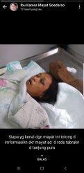 Mrs X Tewas Laka Lantas di Jl Tanjungpura Pontianak Selatan