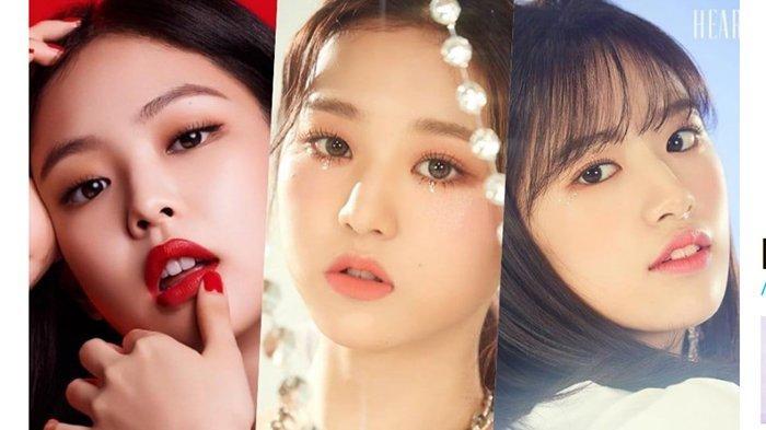 Jennie BLACKPINK Betah di Puncak, IZ*ONE Bikin Kejutan! Ini Member Girl Group K-Pop Terpopuler April