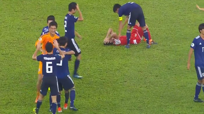 Jepang Juara Piala Asia U16 2018, Tonton Cuplikan Gol yang Hancurkan Asa Tajikistan