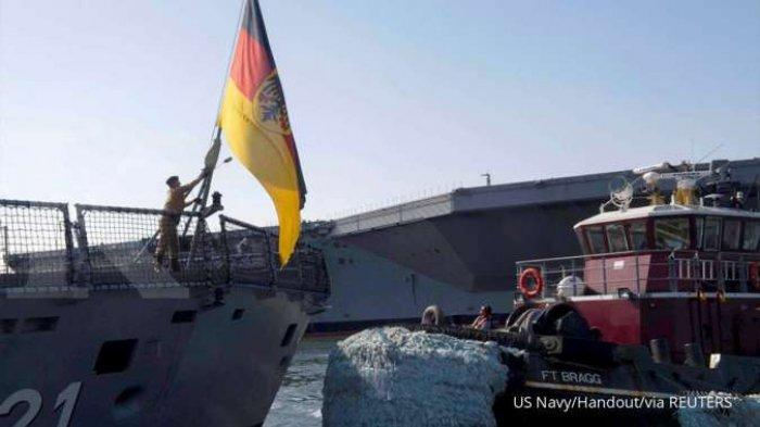 JERMAN Arahkan Kapal Perang Jenis Fregat ke Jepang 'Gara-gara' China ? Indo-Pasifik Kebijakan Baru