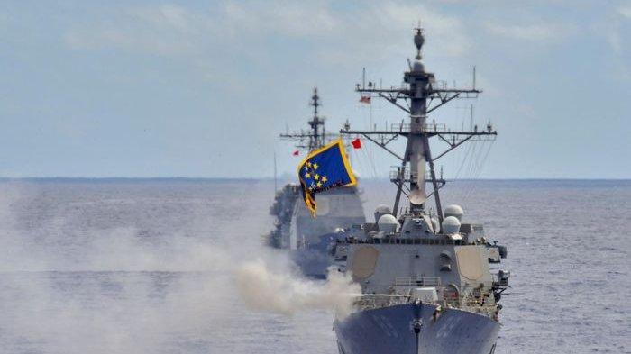 Jet Tempur China Terobos Wilayah Udara Taiwan, Kapal Destroyer US Navy Labrak Militer Negeri Panda