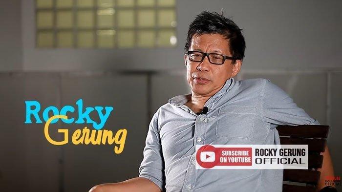 Rocky Gerung Nilai Jokowi Ingin Gagalkan Anies Baswedan di Pilpres 2024 : ' Sandiaga Anggap Lelucon'