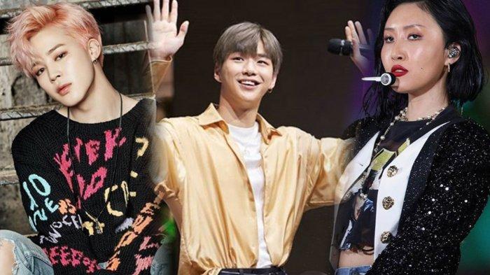 Jimin BTS, Kang Daniel & Hwasa MAMAMOO Tempati 3 Teratas Member Grup Idol K-Pop Populer Desember Ini