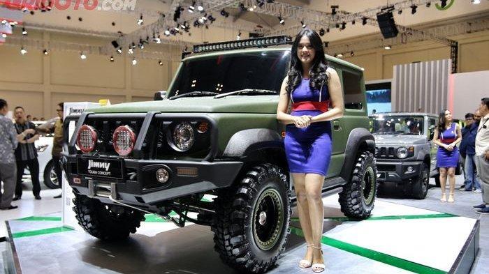 Hasil Modifikasi, Suzuki Jimny Tough Concept Tampil Lebih Garang