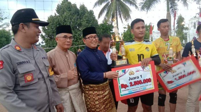 Tutup Turnamen Voli Rasau Jaya Cup, Ini PesanSujiwo