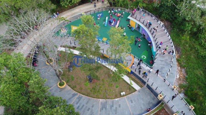 Taman Digulis Untan Asyik Untuk Dikunjungi dan Ramah Anak