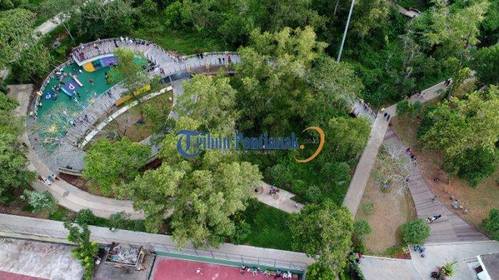 DRONE: Indahnya Bundaran Untan dan Jogging Track Taman Digulis Pontianak - jogging-track-taman-digulis-pontianak_20170203_203423.jpg