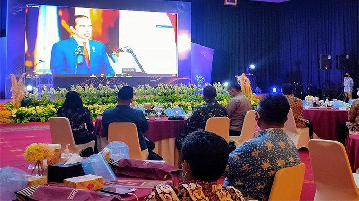 Jokowi Imbau Pertumbuhan Positif Ekonomi Harus Dijaga, Dengan Disiplin Protokol Covid-19