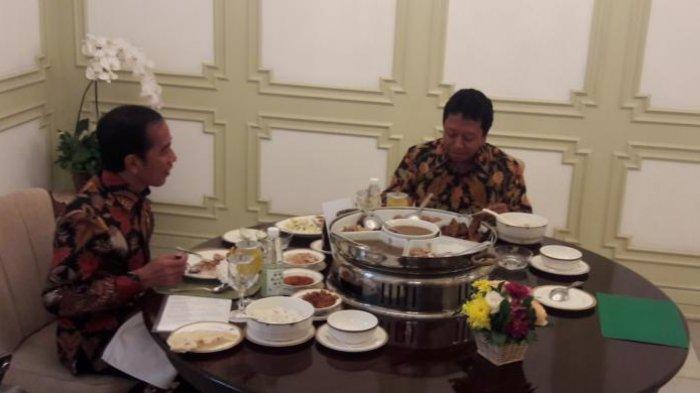 Harga Menu Makan Siang Jokowi di Balikpapan, Ada Kangkung Terasi