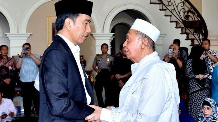 Istri Hamzah Haz Meninggal Dunia, Jokowi Melayat Ke Rumah Duka