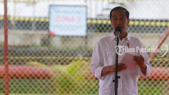 Gelengan Kepala  Presiden Jokowi