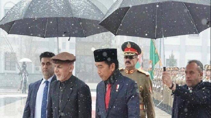 Diplomasi Peci  Presiden Jokowi
