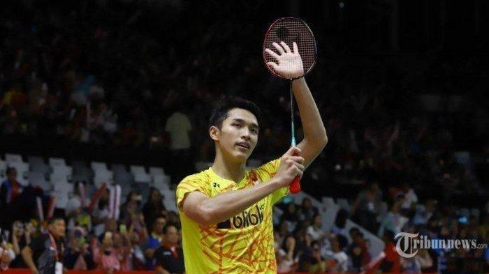 Live Streaming Badminton China Open 2019: Jonatan Christie Vs Shesar Hiren Rhustavito Jam 17.15