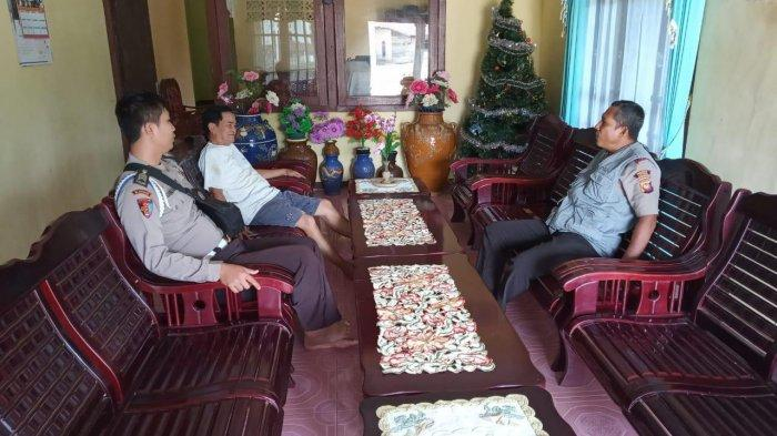 Jaga Harkamtibmas, Polsek Belitang Koordinasi dengan Elemen Masyarakat