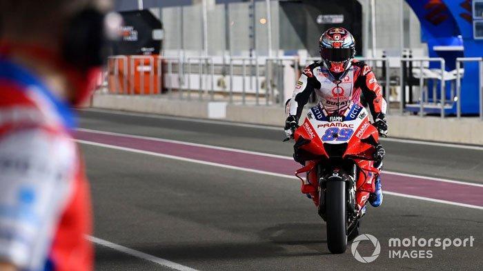 TERBARU Hasil Kualifikasi MotoGP Doha 2021 - Jorge Martin Pole Position, Misi Sulit Valentino Rossi