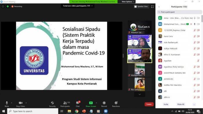 UBSI Pontianak Siapkan Mahasiswa Praktik Kerja Lapangan Lewat Sosialisasi SIPADU