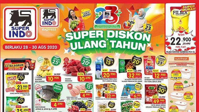 Promo Terbaru Superindo 29 30 Agustus 2020 Promo Jsm Tinggal 2 Hari Dapatkan Kebutuhan Serba Diskon Tribun Pontianak