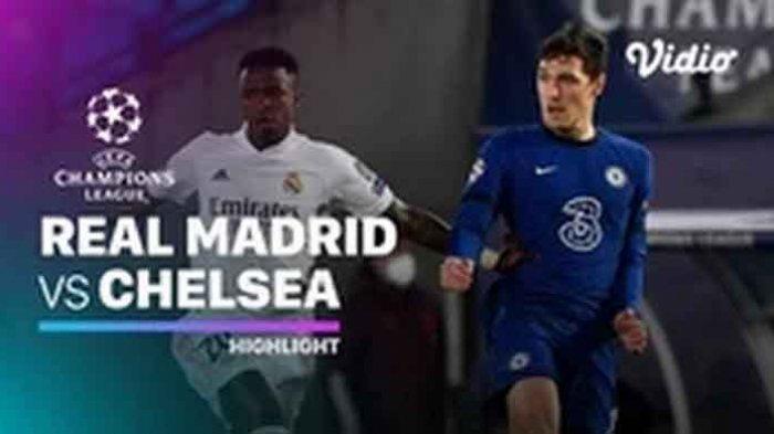 Juara Hasil Liga Champion Perempat Final Semalam Real Madrid vs Chelsea Berakhir Tanpa Pemenang