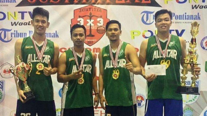 Justitia 3 X 3 Basketball se-Kalbar Sukses, Penonton Melebihi Target