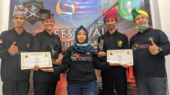 Dua Pemuda Sambas Juarai Lomba Melipat Tanjak Kreasi Se-Kalbar