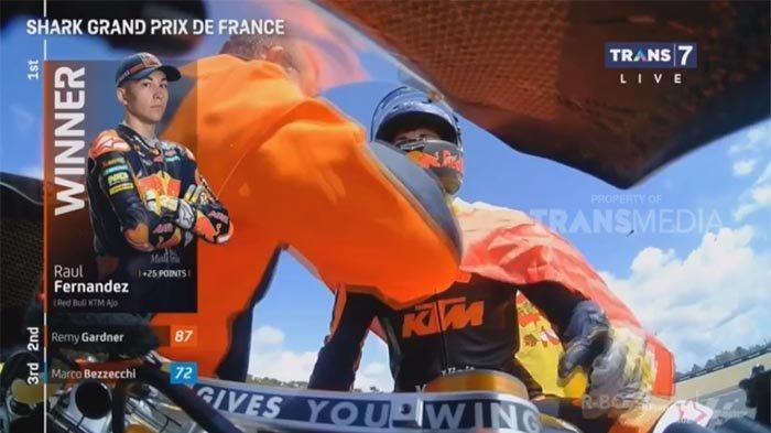 JUARA Moto2 GP Prancis 2021 Hari Ini Minggu 16 Mei, Cek Posisi Raul Fernandez di Klasemen Moto2 2021