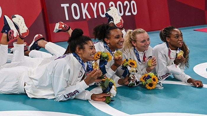 REKAP Olimpiade Tokyo! Amerika Serikat Juara Umum, Indonesia 55 Diikuti 205 Negara dan 11.090 Atlet