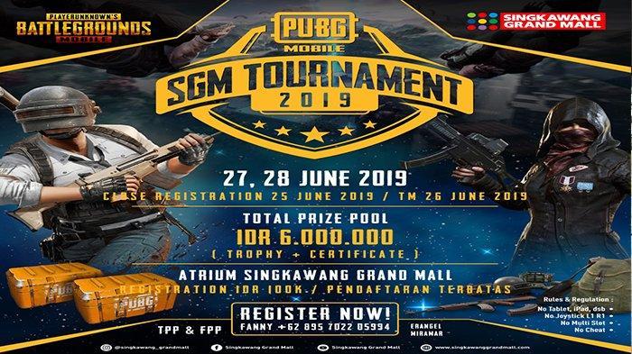 Singkawang Grand Mall Luncurkan Tournament Game Online PUBG Mobile