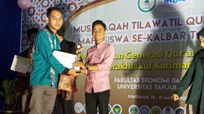 Komunitas Mahasiswa Pencinta Alquran FEB Untan Sukses Gelar MTQ Mahasiswa Tingkat Kalbar