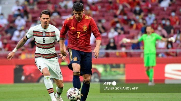 Jadwal Euro Malam Ini Live RCTI dan MolaTV: Spanyol vs Swedia, Hungaria vs Portugal