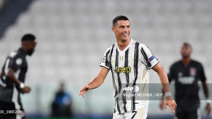 Pemain Juventus Cristiano Ronaldo.